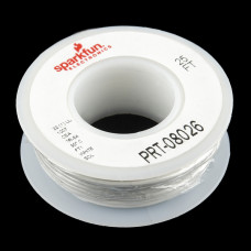Hook-up Wire - White (22 AWG)