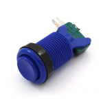 Concave Button - Blue