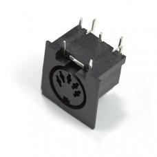 MIDI Connector - Female Right Angle