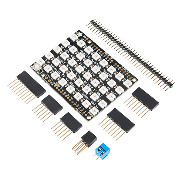 NeoPixel Shield - 40 RGB LED Pixel Matrix