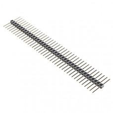 Break Away Headers - 40-pin Male (Long Centered, PTH, 0.1