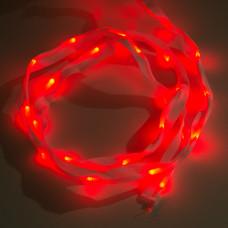 Sewable LED Ribbon - 1m, 25 LEDs (Red)