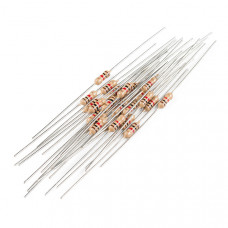 Resistor 1K Ohm 1/4 Watt PTH - 20 pack (Thick Leads)
