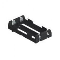 Battery Holder - 2x18650 (board mount)