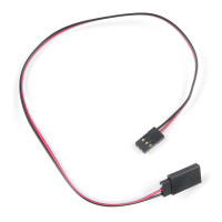 Servo Extension Cable - Female to Male (Shrouded)