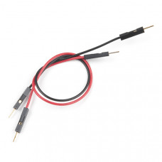 Jumper Wires Premium 6in. M/M - 2 Pack (Red and Black)